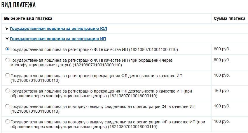 Скачать бланк пошлины для регистрации ип пример формы для регистрации ип