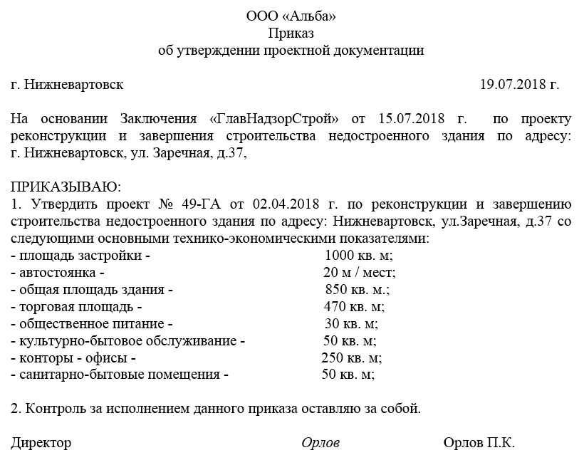 образец приказа о назначении специального должностного лица ответственного за реализацию правил внут